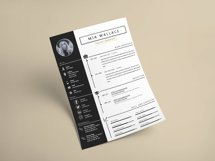 Elegant Minimalistic Resume Template With MS Word Product Image 3