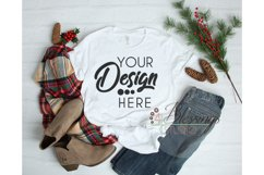 Winter Mockup Bundle Bella Canvas Mockup Bundle T Shirt Flay Product Image 6