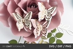 BEST SELLER - Butterfly SVG, 3D Butterfly SVG Product Image 3
