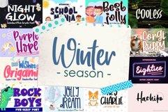 BIG BUNDLE - Seasonal Crafting Font Collection!! Product Image 11