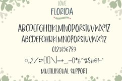 Love Florida - Fun & Cute Font Product Image 6