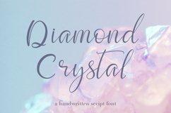 Script font Diamond Crystal Product Image 1