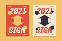 Renaise - Letter Sign Typeface Product Image 2