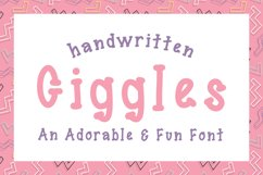 Giggles Dotted Serif Font Product Image 1