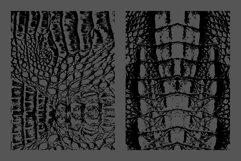 10 Crocodile Leather Texture Overlay Product Image 5