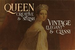 Queen - Display Font Product Image 2