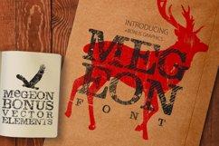 Megeon Font + Vector Bonus Product Image 1