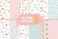Cute rainbow patterns. Product Image 1