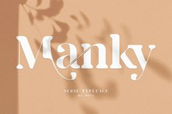 Manky - Serif Typeface Font Product Image 1