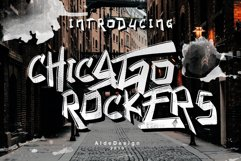 Chicago Rockers - WEB FONT Product Image 1