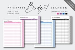 """7"""" x 9.25"""" Paycheck Budget Printable Planner Product Image 2"""