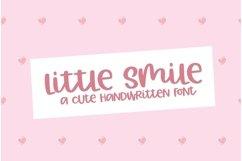 Web Font Little Smile - A Cute Hand-Written Font Product Image 1