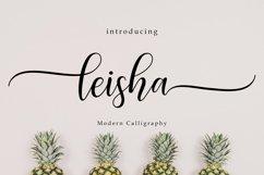 Leisha Script   WEB FONT Product Image 1