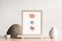 Boho Flower Wall Art, Boho Flowers Set, Flower Wall Print Product Image 2