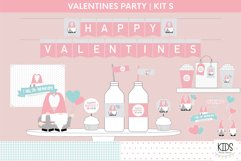 Valentine's Day party decorations. | Gnomes printable party Product Image 1
