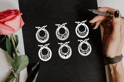 Papercut Baby Napkins, Bibs, Decorative Ornaments, Newborn Product Image 3