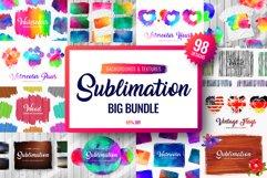 Sublimation Bundle - Backgrounds & Textures Product Image 1