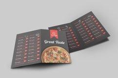 Food Menu Bi-Fold Brochure Product Image 6