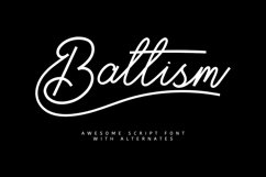 Baltism Typeface Product Image 1
