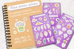 Floral stickers collection Product Image 1