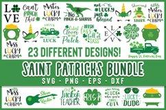 SALE! Saint Patrick's Day Bundle svg, st patricks day svg Product Image 1
