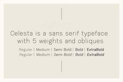 Celesta - Sans Serif Font Product Image 2