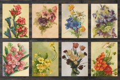 Floral bookpages, junk journal kit Product Image 3