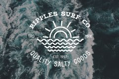 Coastal Fever - Font Package & Beach Textures Product Image 2