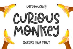 Curious Monkey -Quirky Line- Product Image 1