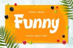 Funny - Playful Display Font Product Image 1