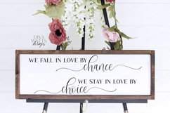 We Fall In Love By Chance We Stay In Love By Chance SVG EPS Product Image 2