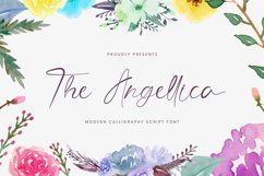 The Angellica - Modern Calligraphy Font Product Image 1