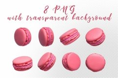 Macaroons. JPG, PNG. Product Image 2