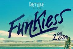 Funkiess - Display Typeface + Bonus Product Image 1