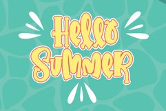 Summering- Web Font Product Image 2