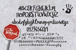 The Stopped Brush Typeface Product Image 2