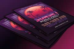 Sunset Beach Party Flyer Product Image 2