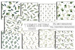 Green leaves Patterns Product Image 5