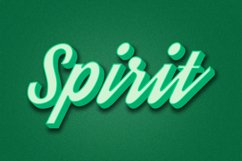 Spirit Editable Photoshop Text Style Effect Product Image 1