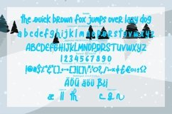 Blue snow | Funny Typeface Product Image 3