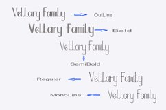 Vellary Family Font Product Image 2