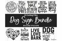 Dog Bundle | Home Sign Svg Files and Cut Files For Crafting Product Image 1