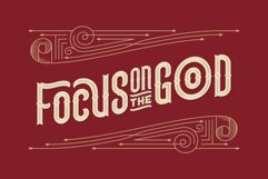 Lord Grayson font and template Product Image 2