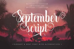 September Script Product Image 1