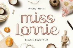 Web Font Miss Lorrie Product Image 1