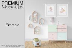 Kids Room - Wall & 90 Custom Frames Product Image 5