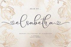 Elsabetha // Lovely Script Font Product Image 5
