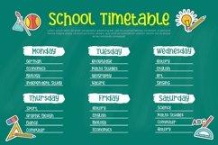 Hanebira - School Display Font Product Image 4