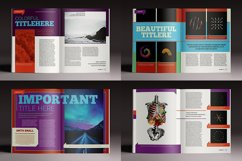 Colorful Indesign Template Product Image 5