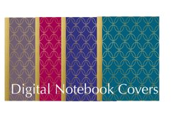 Four Digital Planner/Notebook Covers Product Image 1